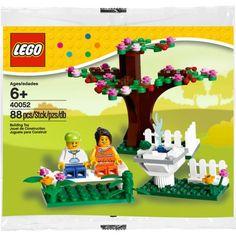 Đồ chơi LEGO 40052 Springtime Scene – Khu vườn mùa xuân