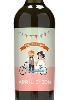 $1 Custom Wine Label for Your Wedding Favor, Inquire for Price for Any Size, Any Qty, Finished Product
