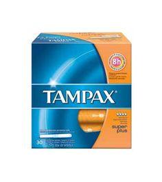 TAMPAX Clasico  super plus 30 unidades