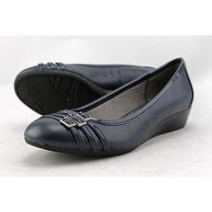 Life Stride Farrow Women US 7.5 Blue Wedge Heel UK 5.5 Pre Owned  1676 #LifeStride #PlatformsWedges