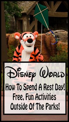 12 fun free ways to spend your rest day at Disney World! |Disney world planning| disney world rest days| Disney world free fun| free at Disney world| save money| disney world.