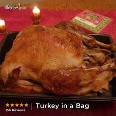 This is a foolproof recipe; you don't think it will brown in a bag, but it does and it's always moist and delish. —KIDDEYKOOD | Repin this easy turkey recipe. (Turkey in a Bag) http://allrecipes.com/recipe/Turkey-in-a-Bag/Detail.aspx?lnkid=7171