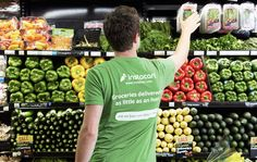 Instacart's hiring spree continues as it faces unprecedented demand – TechCrunch Grocery Delivery Service, Sign Up Page, Business News, Business Journal, Online Business, Get Started, How To Make Money, Tips, Technology News