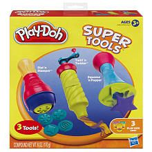"Play-Doh Super Tools Set - Dial 'n Stamper, Twirl 'n Twister and Squeeze 'n Popper - Hasbro - Toys ""R"" Us All Toys, Toys For Boys, Recipe For Christmas Ornaments, Christmas Gifts, Christmas 2019, Adult Crafts, Toys Online, Kids Store"