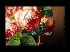 Как рисовать розы. Натюрморт масляными красками. Техника старых мастеров. How to Paint a Rose - YouTube