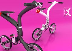 Le Pilable: the folding bike