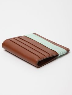 Raf Simons leather card wallet