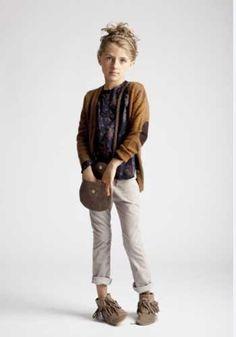 Fringe mocs and cardie. #designer #kids #fashion