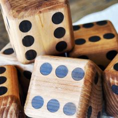 Yard DIce | Natural Games for Kids | Eco Friendly Games