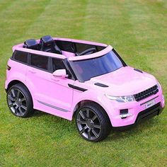 Maxi Range Rover HSE Sport Style Electric Battery Ride on Car Jeep - Pink At Outdoor Toys - The UK's Leading Outdoor Toy Specialist. Car Games For Kids, Toy Cars For Kids, Toys For Girls, Kids Toys, Kids Ride On Toys, Pink Range Rovers, Range Rover Hse, Range Rover Sport, Sport Style