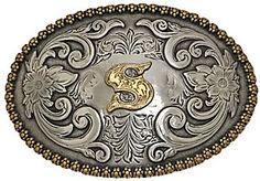 S belt buckle
