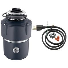 InSinkErator COVER CONTROL PLUS Evolution 3/4 HP Batch Feed Garbage Disposal wit,