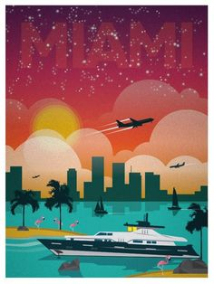 Vintage Travel Posters by Alex Asfour (2)