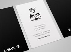 Mumilab  - Visual Identity / Website by Kasper Laigaard, via Behance