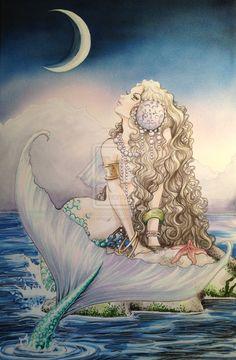 mermaid drawing