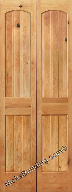 Bifold Doors, Oak Bifold Doors, Mahogany Bifold Doors, Rustic Knotty Alder  Bifold Doors With Hardware Included.