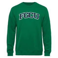 Florida Gulf Coast Eagles Arch Name Sweatshirt - Green Eagles Shop, Florida Gulf Coast University, Arch, Names, Sweatshirts, Green, Mens Tops, Clothes, Shopping