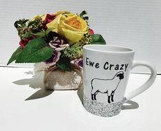 Ewe Crazy Mug by Enchanting Creations