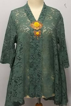 Kebaya Lace, Kebaya Dress, Model Kebaya, Brokat, Tunic Tops, Sewing, Blouse, Long Sleeve, Sleeves