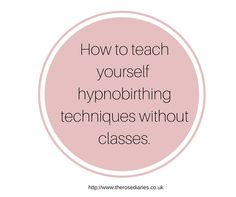We often hear stories about hypnobirthing classes but what about self taught hypnobirthing, is it as effective?