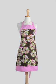 Reversible Chef Apron . Womens Kitchen Cooking by CreativeChics #CreativeChics#Aprons