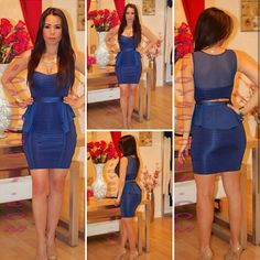 LOVE this dress! <3 <3 <3 So sexy!! Love how the dress shapes the perfect hourglass figure!!!!