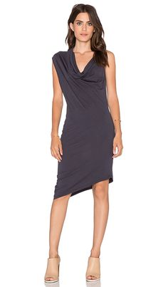 Shop for Bobi Modal Jersey Drapey Dress in Dark Cloud at REVOLVE. Free 2-3 day shipping and returns, 30 day price match guarantee.
