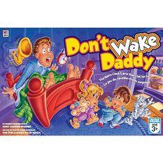 Don't wake Daddy est un jeu que l'on adore. Son concept action/réaction fait de lui un renforçateur en soi pour certains enfants. Association d'images, dénombrement, tour de rôle, gestion de l'impulsivité. Ce jeu stimulant plaira à tout vos enfants.