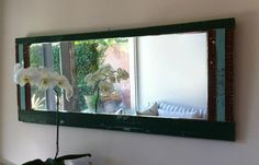 Marcos para espejos con madera 100% reciclada by WOODHEAD Aquarium, Furniture, Frame Mirrors, Blue Prints, Goldfish Bowl, Aquarium Fish Tank, Home Furnishings, Aquarius, Fish Tank