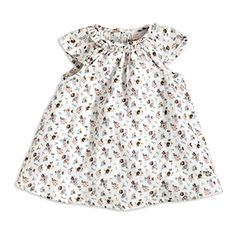 Patterned Cotton Dress - Lindex