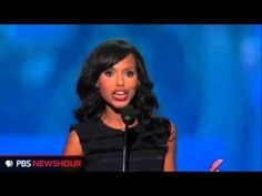 Awesomely empassioned: Kerry Washington Speech at 2012 Democratic National Convention (complete speech)