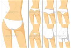 Panties: Pantalones interiores femeninos.