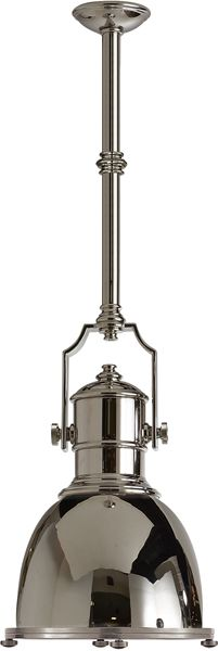 COUNTRY INDUSTRIAL PENDANT WITH METAL SHADE