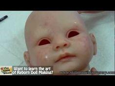 Applying Veining with Genesis heat set paints - Reborn Doll Tutorial - YouTube