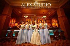 ALEX STUDIO PHOTOGRAPHY AND CINEMATOGRAPHY Maternity, Newborn, Head shot, Fashion portfolio Destination Wedding- Worldwide Travel Please contact us at 425.883.6800  Wedding at The Artic Club, bride & bridesmaid photo