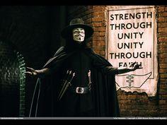 """""""O povo não deve temer o governo, o governo é que deve temer o povo."""" (V de Vingança)"""