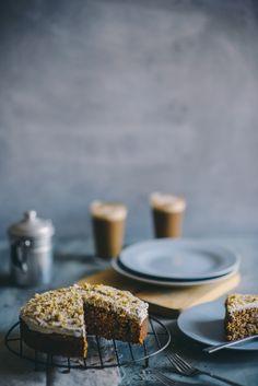 spelt flour carrot cake