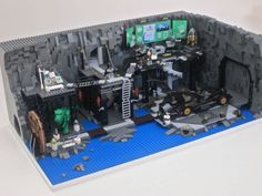 lego batman batcave custom - Google Search