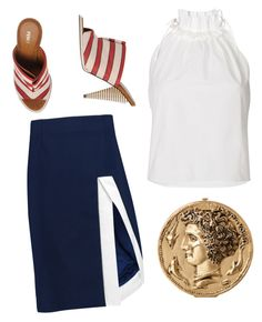 """""""The woman from the Piraeus"""" by babemagnet ❤ liked on Polyvore featuring J.W. Anderson and Fendi"""