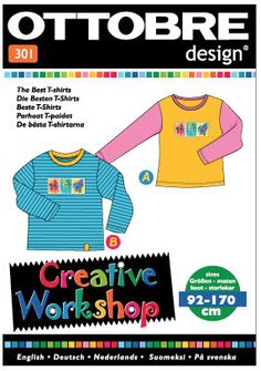 Ottobre Design - Creative Workshop 301 - The Best T-shirts