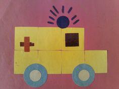 Afbeeldingsresultaat voor ziekenwagen vierkantjes