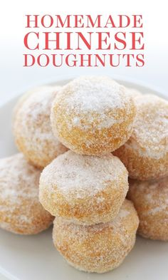 Chinese Doughnut Recipe, Chinese Donuts, Chinese Pastries Recipe, Simple Donut Recipe, Mini Donut Recipes, Breakfast Buffet Table, Dessert Tables, Homemade Donuts, Homemade Recipe