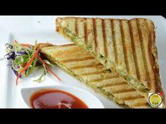 Masala Grilled Sandwich - Potato Masala  - By Vahchef @ vahrehvah.com - YouTube