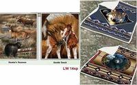 Wildlife Plush Sherpa Throw Collection  www.mylinenworld.com/kimberlysweeney/