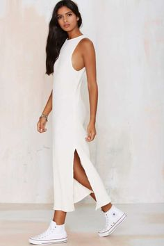 More than a Feelin' Ribbed Maxi Dress - Best Sellers