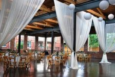 Atlanta Wedding Venues, Wedding Vendors, Wedding Inspiration, Wedding Ideas, Polished Concrete, Formal Wedding, Concrete Floors, Skylight, Backdrops