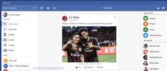 Facebook e Instagram como aplicaciones universales en win10