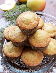 Briose cu mere - Desert De Casa - Maria Popa Bun Bun, Muffins, Cakes, Sweet, Bebe, Candy, Muffin, Cake Makers, Kuchen