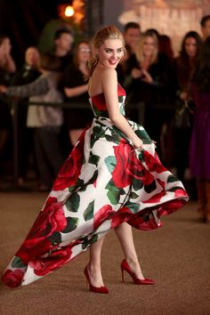"""Meg Donnelly Photos - Meg Donnelly attends the premiere of Columbia Pictures' """"Jumanji: Welcome To The Jungle"""" on December 2017 in Hollywood, California. - Premiere of Columbia Pictures' 'Jumanji: Welcome to the Jungle' - Arrivals Pretty Prom Dresses, Pretty Outfits, Beautiful Dresses, Old Disney Movies, Girl Meets World, Boy Meets, Meg Donnelly, Zombie Disney, Fashion Terms"""