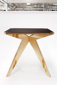 oh table, you're so sexy. (plywood furniture by Stefano Pugliese)